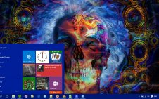 Trippy win10 theme