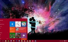 Love  win10 theme