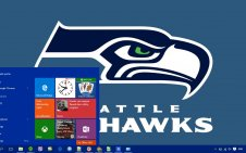 Seahawks win10 theme