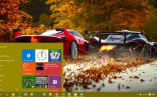 Car win10 theme