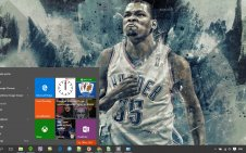 Kevin Durant win10 theme