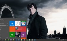 Sherlock win10 theme