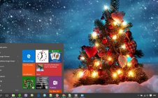 Christmas win10 theme