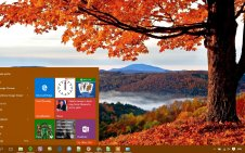 Autumn win10 theme