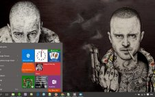 Breaking Bad win10 theme