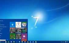 Windows 7 win10 theme