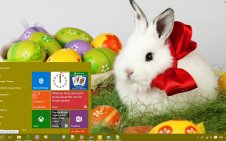 Easter win10 theme