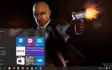 Hitman Absolution win10 theme
