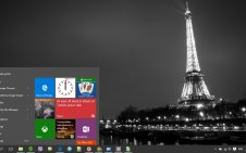 Paris win10 theme
