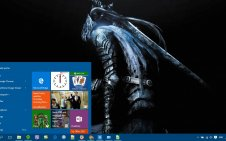 Dark Souls win10 theme