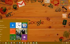Google win10 theme