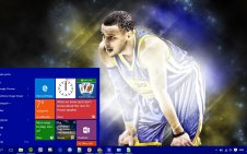 Stephen Curry win10 theme
