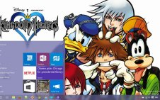 Kingdom Hearts win10 theme