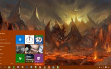 Video Game win10 theme