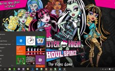 Monster High win10 theme