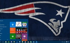 New England Patriots win10 theme