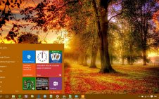 Fall win10 theme
