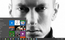 Eminem win10 theme