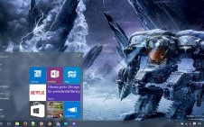 Lost Planet 3 win10 theme