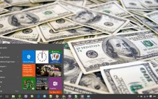 Money win10 theme