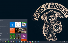 Sons Of Anarchy win10 theme