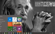 Quote win10 theme