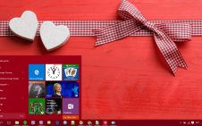 Valentine win10 theme