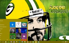 Green Bay Packers win10 theme