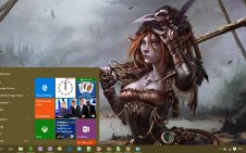 Steampunk win10 theme