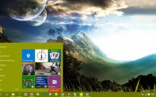 Landscape win10 theme