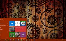 Pattern win10 theme