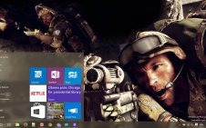 Medal of Honor Warfighter win10 theme