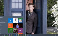 Dr Who win10 theme