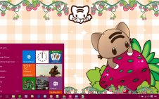 Kawaii win10 theme