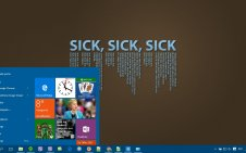 Sick win10 theme
