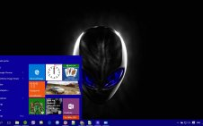 Alienware win10 theme