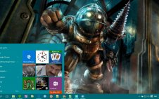 BioShock win10 theme
