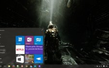Metro Last Light win10 theme