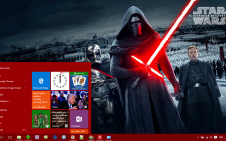 Star Wars: Episode VII - The Force Awakens win10 theme