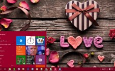 Valentines Day win10 theme