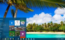 Tropical win10 theme