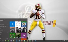 Redskins win10 theme