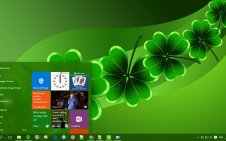 St Patrick's Day win10 theme