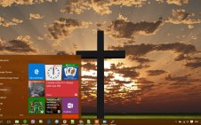 Christian win10 theme