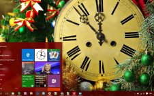 New Year win10 theme