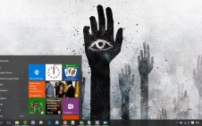 Illuminati win10 theme