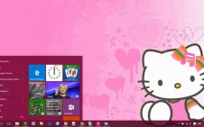 Hello Kitty win10 theme