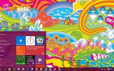 Hippie win10 theme
