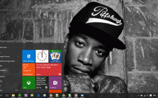 Wiz Khalifa win10 theme