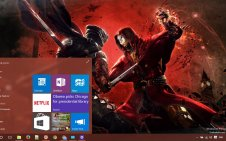Ninja Gaiden win10 theme